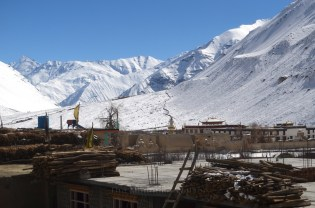 View of Tabo monastery from the road; Photo: Abhinav Kaushal