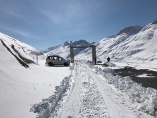 The gate on the other end of Kaza.