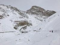 View towards the Shila nala as we proceed ahead on foot.