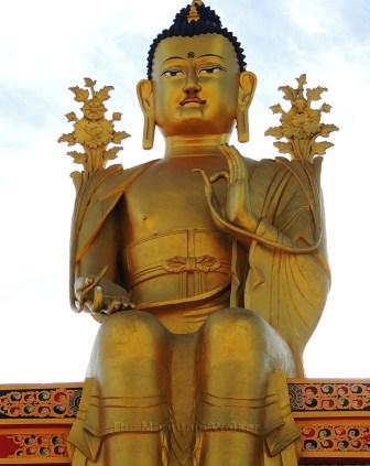 Maitreya Buddha in Likir Monastery; Photo: Abhishek Kaushal