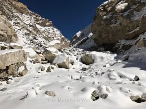 The Malling Nala during winters; Photo: Abhinav Kaushal
