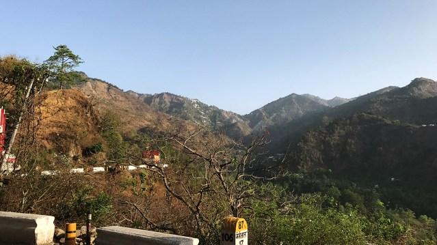 Along The Mountain Roads 05