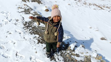 The Kurious (curious) kid of Khurik, Spiti (https://youtu.be/SqQsLvUVlCk); Photo: Abhishek Kaushal