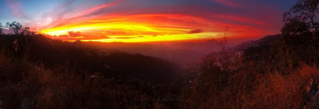 Cosmic sunset view in Himachal Pradesh; Photo: Abhinav Kaushal