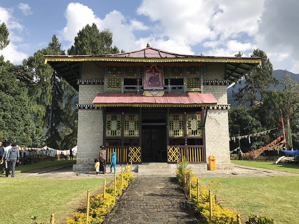 Dubdi Monastery, Yuksom, West Sikkim; Photo: Swarjit Samajpati