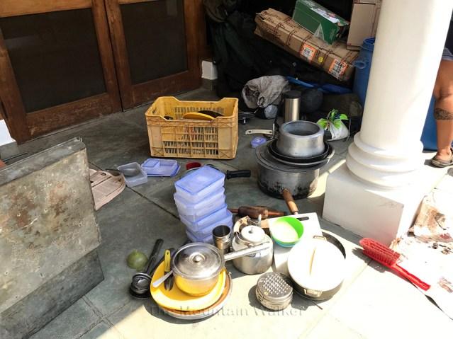 Nanda Ghunti Expedition Preparation Materials