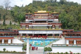 Ramtek Monastery in Gangtok, Sikkim; Photo: Swarjit Samajpati