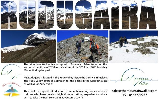 Mount Rudugaira Expedition October 2018 - The Mountain Walker