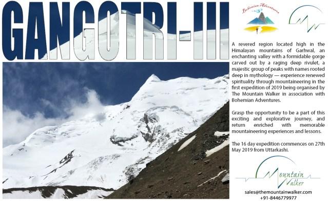 Gangotri III Expedition 2019 - The Mountain Walker