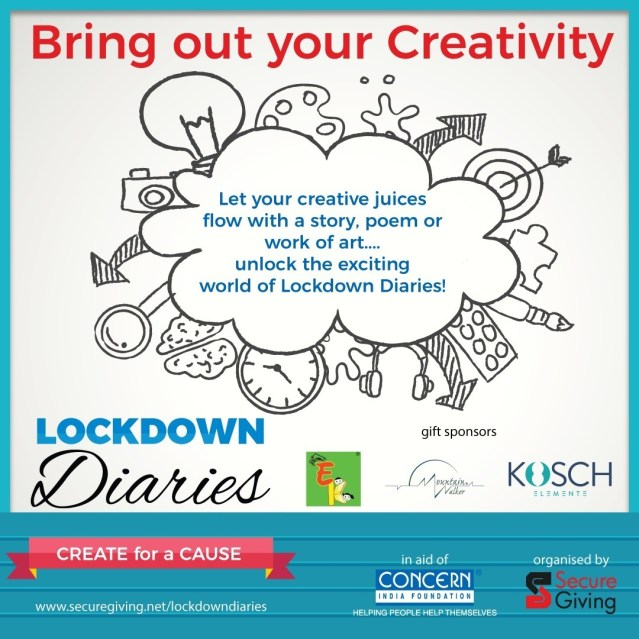 """Lockdown Diaries — Create for a Cause"" Promo 1"