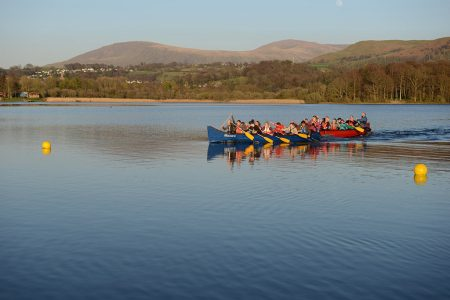 rowing on derwentwater