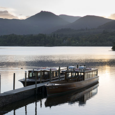 Derwent Water launch & Causey Pike