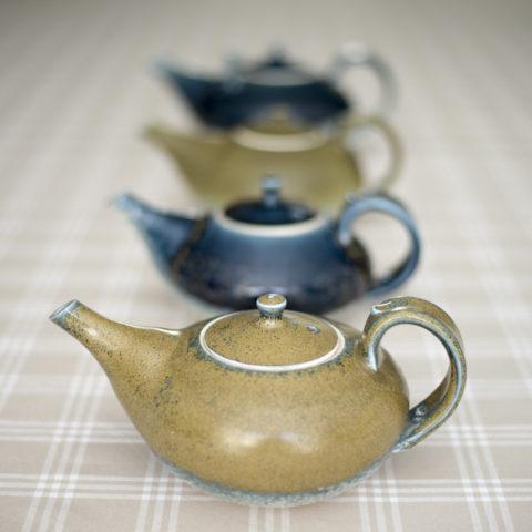 Teapots by Stuart Broadhurst