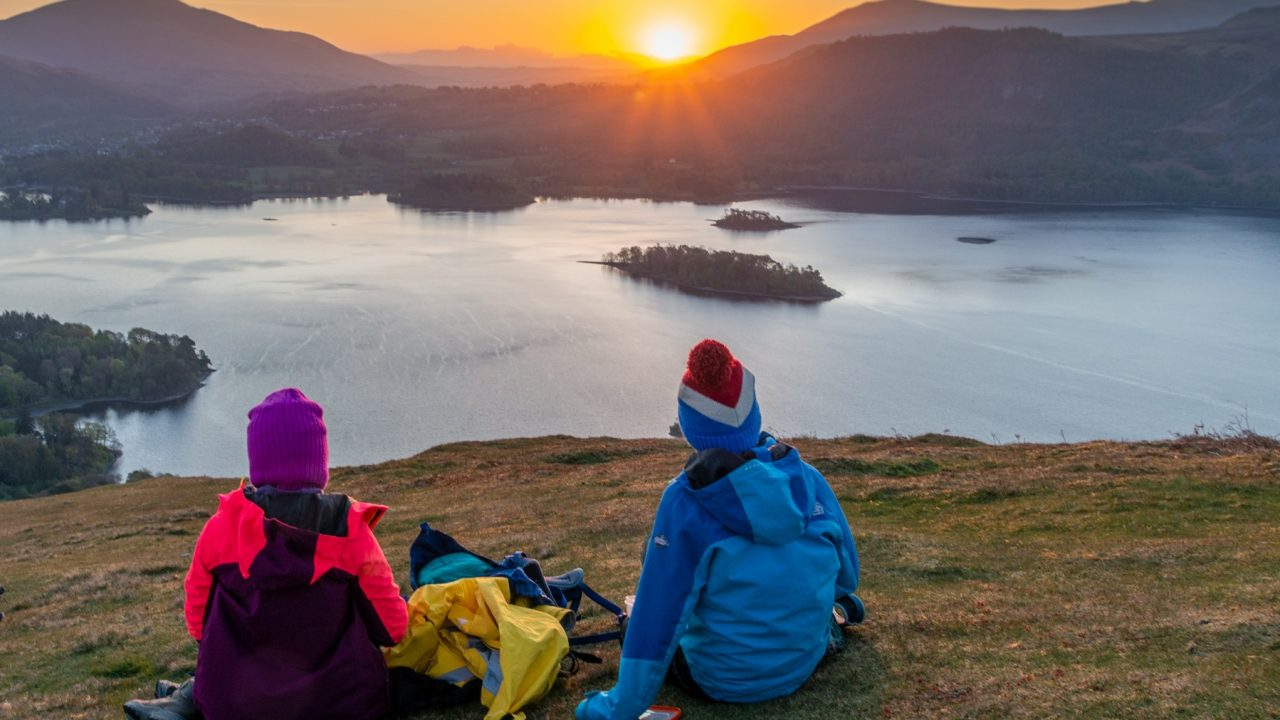 Catbells at sunrise - and get back in time for breakfast!