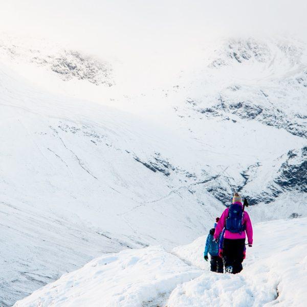 Snowy mountain walks 2