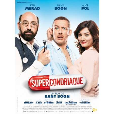 Soirée ciné… Supercondriaque…