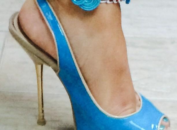 DIY: Une nouvelle manchette de cheville de TheMouse… Fuschia et turquoise!