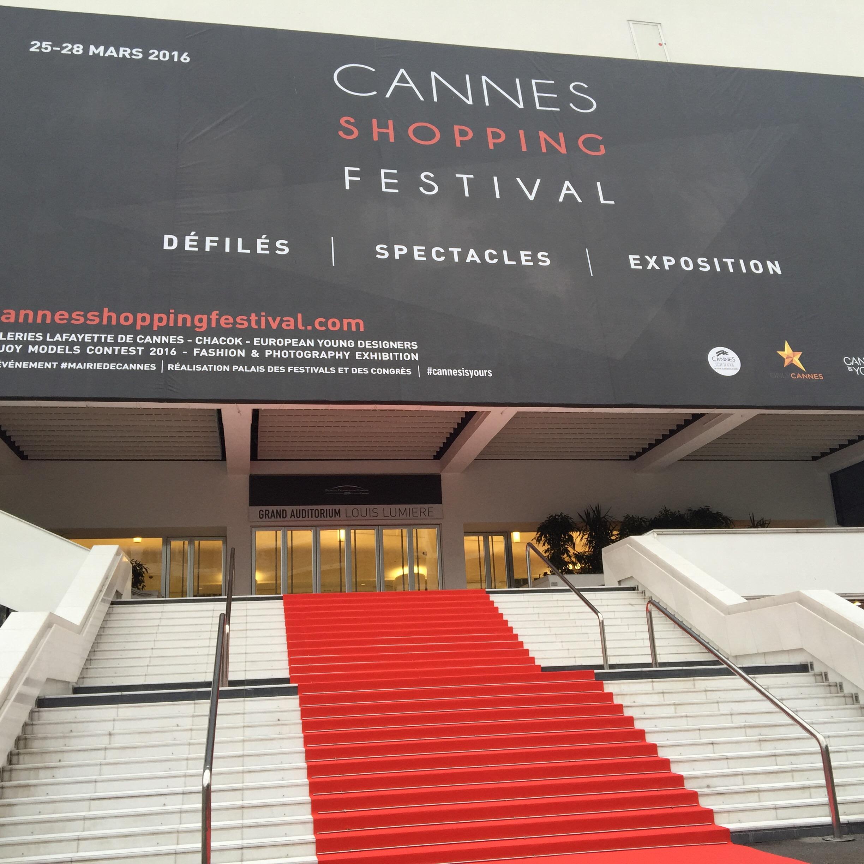13e édition du Cannes Shopping Festival… #summerbreak par les Galeries Lafayette… TheMouse invitée en VIP!