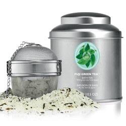 Les tests de TheMouse: Bath tea, Fuji Green tea chez The Body Shop