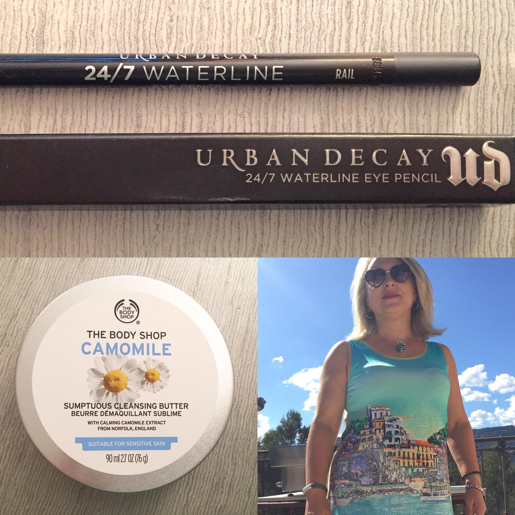Les tests de TheMouse: le crayon Urban Decay 24/7 waterline eye Pencil et le beurre démaquillant sublime Camomille The Body Shop