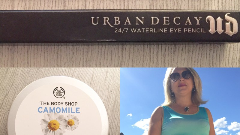 Les tests de TheMouse: le crayon Urban Decay 24/7 waterline eye Pencil et le beurre démaquillant sublime Camomille The Body Shop
