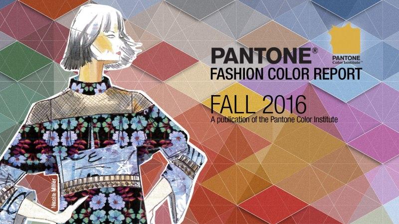 Les couleurs Pantone mode et déco pour l'automne-hiver 2016… 2017!
