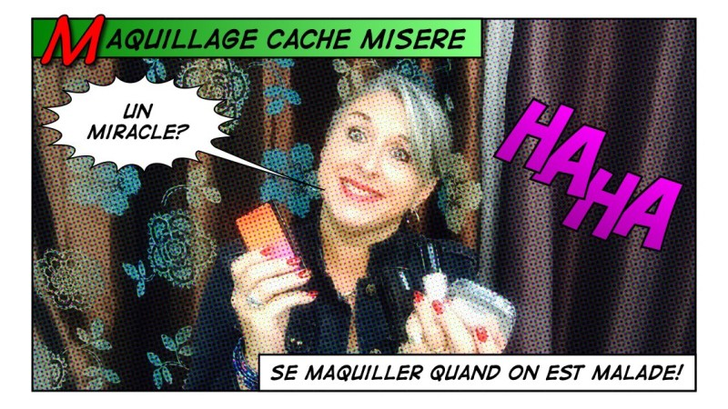 TheMouse sur YouTube: Maquillage cache misère… Ou se maquiller quand on est malade!