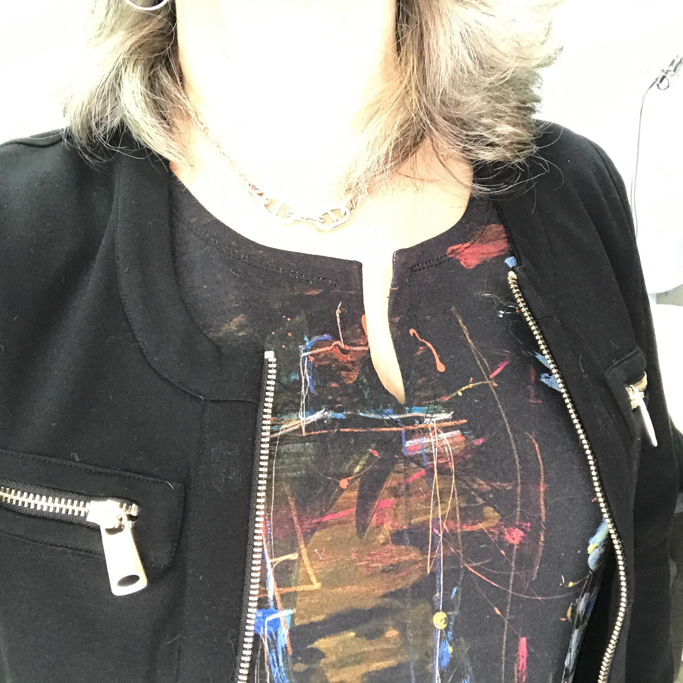 Idée look: ma jolie robe… BLEU D'AZUR!