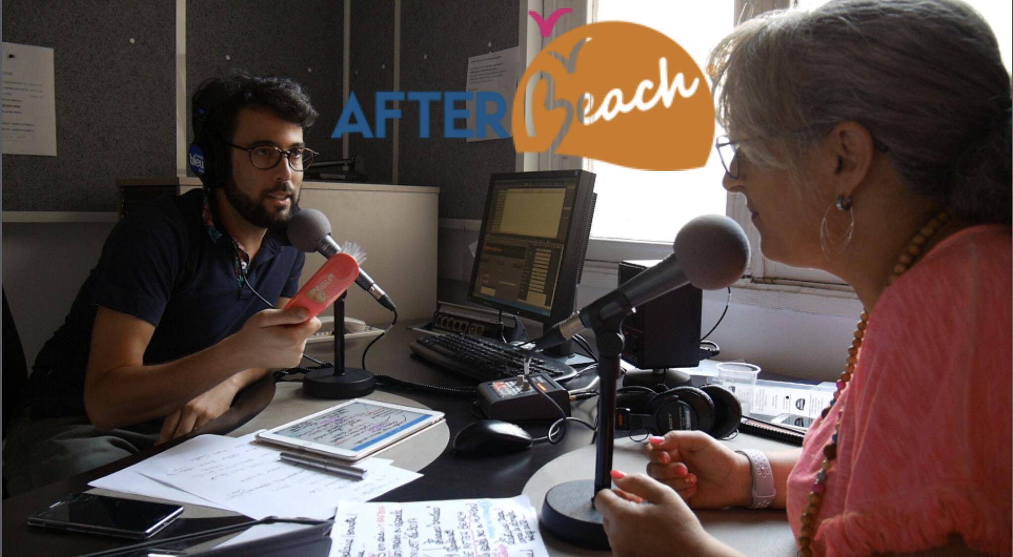 VENEZ DÉCOUVRIR RADIO FRANCE BLEU AVEC MOI… ET BLABLA, VUES DE LA PROMENADE DES ANGLAIS!