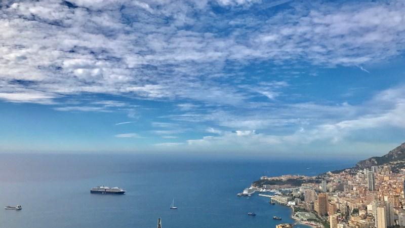Monaco vu d'en haut… Casterino, vallée des merveilles, club Abarth (Lundi Soleil 14 Aout 2017)