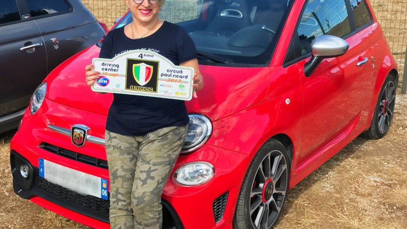 Italegends… 4eme édition… Abarth… Lundi Soleil 11/09/2017