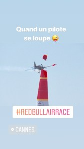 Redbull air race cannes Magali TheMouse Quinqua