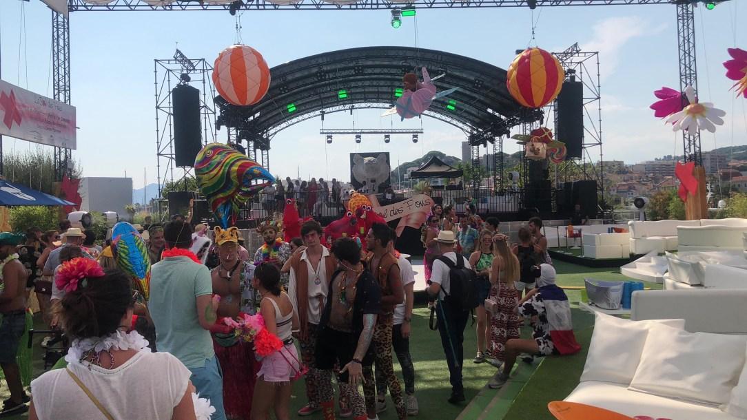 Quinqua, 50 ans, le bal des fous, palais des festivals de cannes