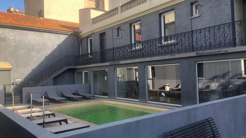 Hôtel Kyriad Blancarde Timone à Marseille… avec piscine et salle de sport!!!
