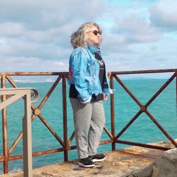 50 ans, blanche porte, teambeautesmajuscules, danseuse, jennyfer, mer, quinqua, tendances, khaan, idee look, port vauban, Fashion, Mode, antibes, kiabi,