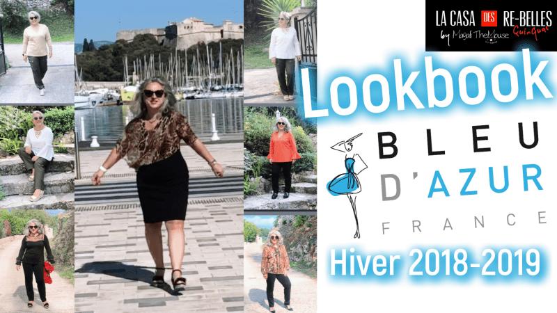 LOOKBOOK AVEC BLEU D'AZUR COLLECTION AUTOMNE HIVER 2018-2019