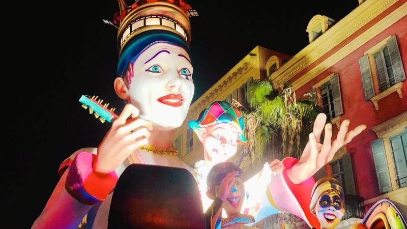 Ma soirée au carnaval de Nice 2019: le roi du cinéma