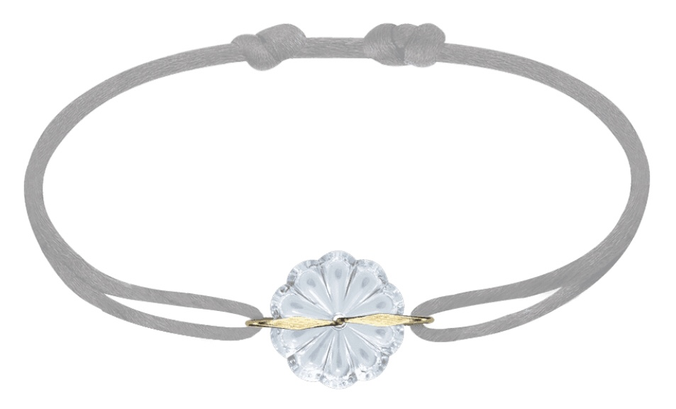 idée cadeau, bracelet, bracelet baccarat, baccarat, cordon soie, mv bracelet, Quinqua, 50 ans, silver, jeunior, partenariat,
