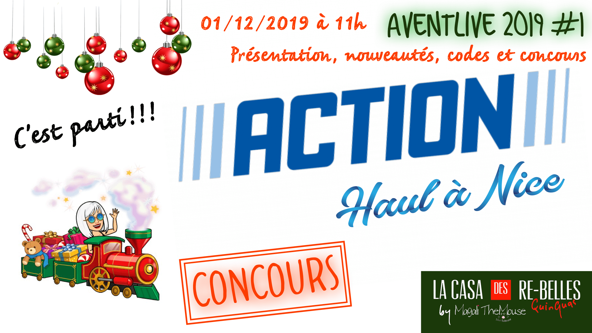 Haul ACTION à Nice, Aventlive 2019