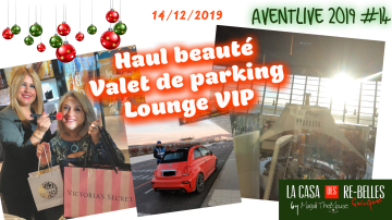 narciso Rodriguez, hebdo live, Inglot, victoria secret, la box de themouse, valet de parking, VIP, beauty mag senior, dutyfree, lounge, live, aéroport de Nice, guerlain, hebdo show, shiseido, Aventlive, hebdomadaire, nouveautés, haul,