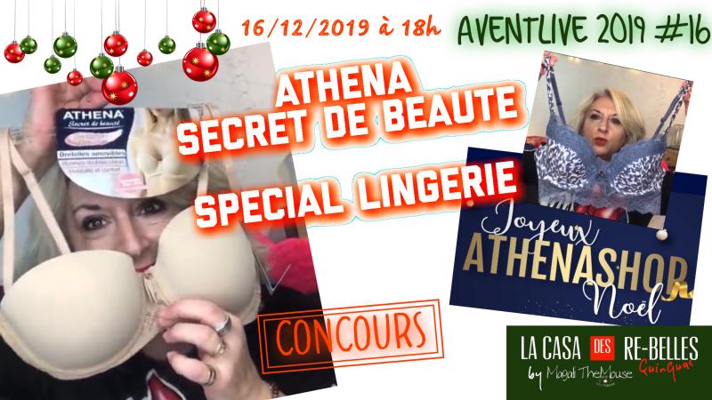 De la belle lingerie avec Athena Secret de beauté