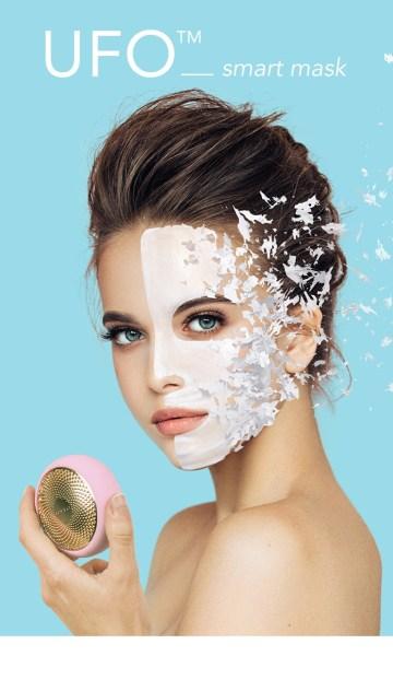 FOREO, skintoys, ufo, iris, Luna, Luna 3, massage du visage, nettoyage du visage, brosse nettoyante, masque, appareil masque visage, Quinqua, Silver Hair,