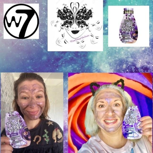 beauty, quinqua, Beauté, beautea, silverhair, silversisters, makeupgeek, maskchallengeunecitadine, blogueusedusud, cheveuxgris, makeup, mask, masque, W7, masque hydratant, peau seche, retinol, peel off, nettoie, ginseng, vitamine E, saga cosmetics