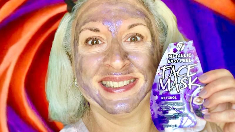 Masque Peel off W7 au rétinol
