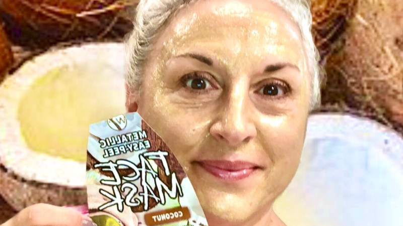 Masque peel-off W7 coconut