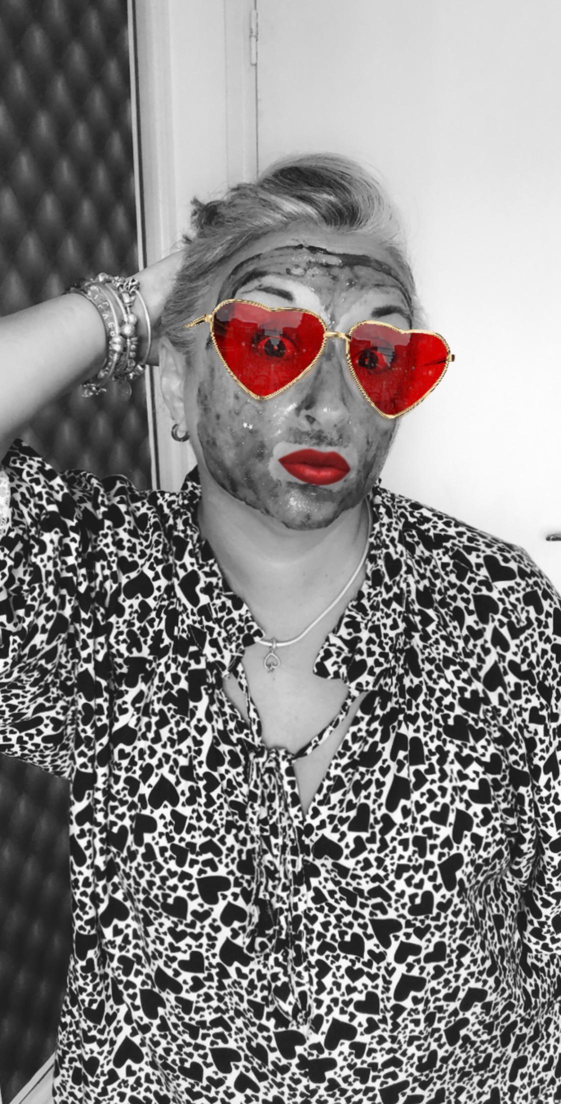 Masque selfie project peel off noir #shinelikeastar