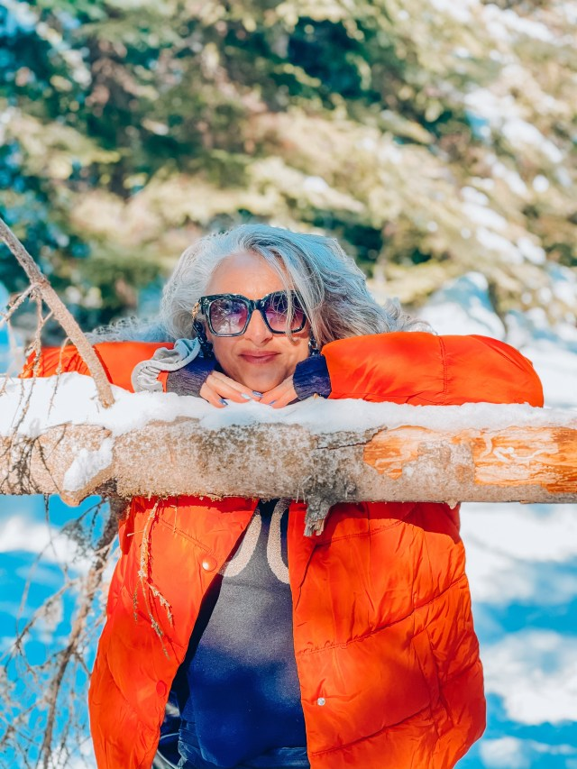 50 ans, faire l'ange, bonheur, sunny monday, lundi soleil, themouse, quinqua, mood, défi, montagne, 50ans, mondaysun, lundisoleil, sunnymonday, photo,