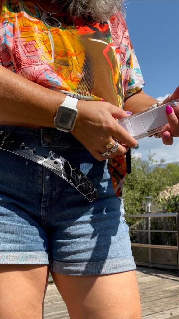 ceinture l'originale, ceinture de voyage, sac le nomade, funs ingénieux et décalés, skimp, ceinture spéciale aéroports, lunettes the mask,