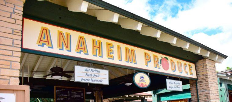 Anaheim Produce Healthy Option Disney