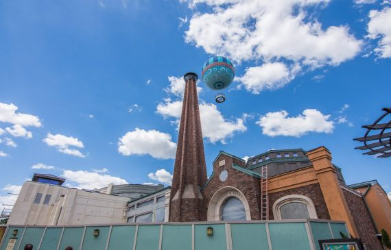 The Edison construction at Disney Springs